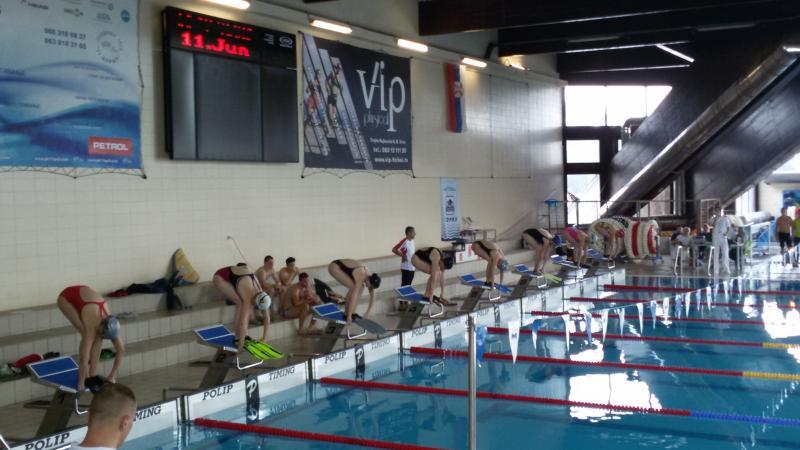 Prvenstvo Srbije u plivanju perajima