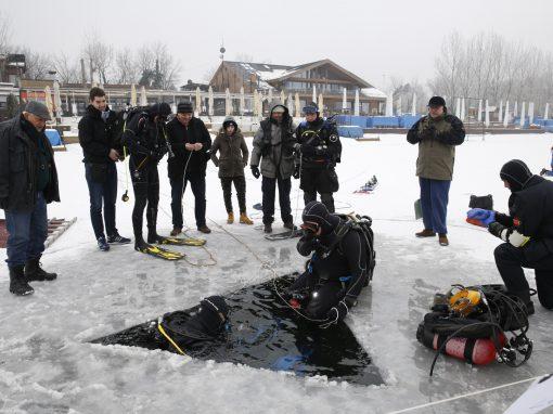 Ronjenje ispod leda – Ada Ciganlija