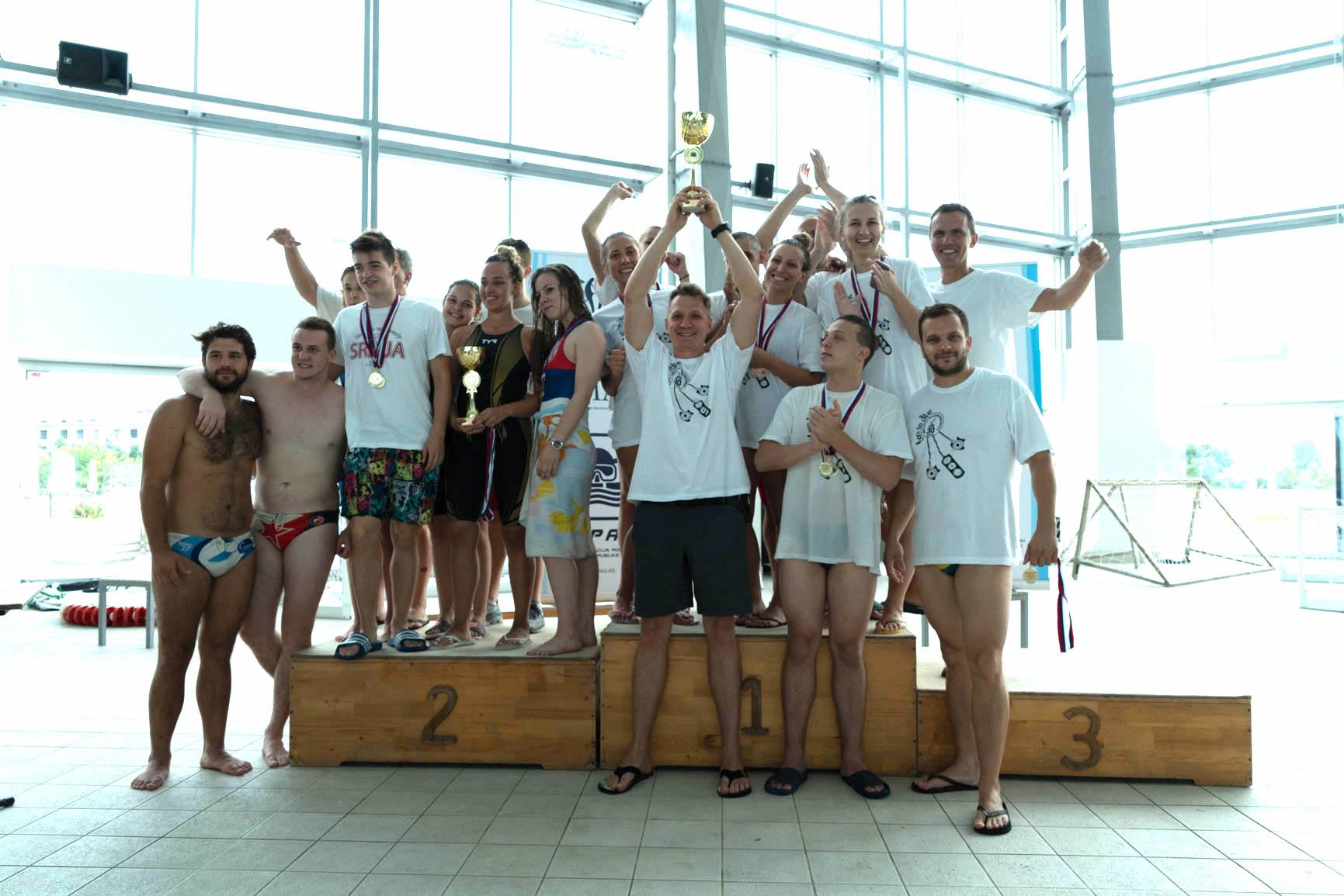 Prvenstvo Srbije u plivanju perajima 2018